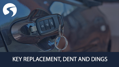 Key Replacement dent and ding