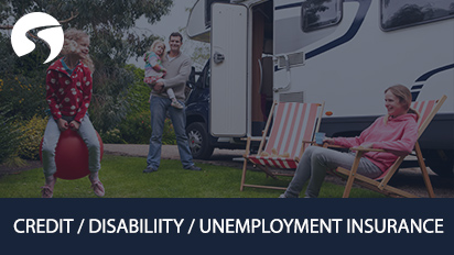 RV credit disability unemployment insurance